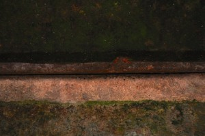 sea wall detail